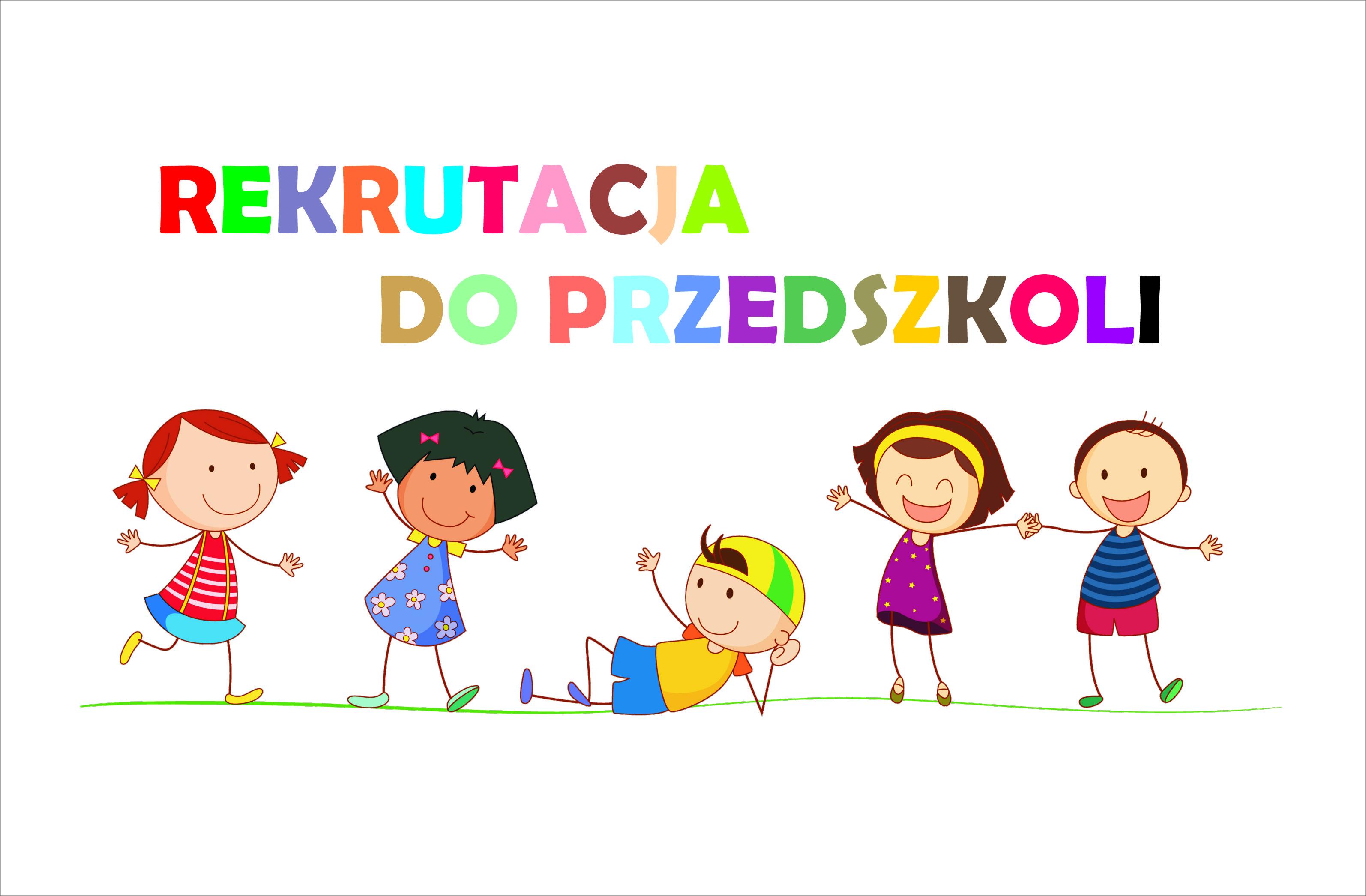 Znalezione obrazy dla zapytania rekrutacja do przedszkola